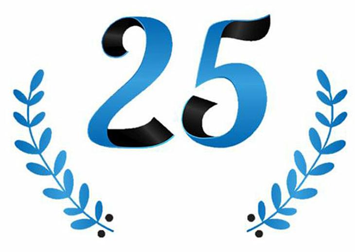 25-jähriges Firmen-Jubiläum